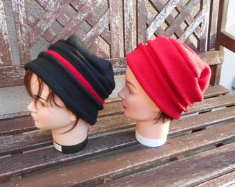 lined boiled wool hats