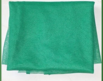 TULLE color green 50 CMS for your CREATIONS