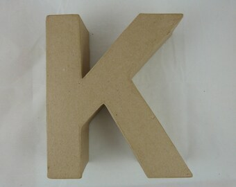 "Letter 3D decoration for home decor ""K"""