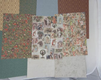 """Assortment of papers Christmas """"Christmas Victorian"""" 3"""