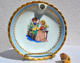 Vintage keep warm plate