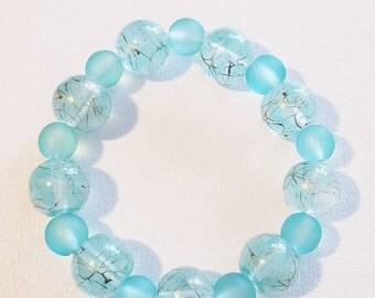 beaded bracelet, women's bracelet, beaded jewelry, women's jewelry, bracelet, jewelry, blue bead bracelet, bead bracelet, bead jewelry, gift
