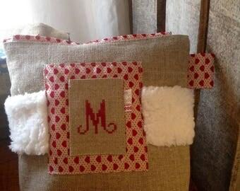 Kit cotton linen and fur Monogram M