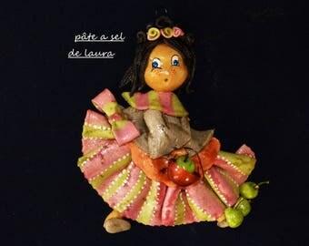 the doll in salt dough