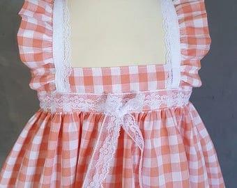 1 baby dress. HAND MADE.