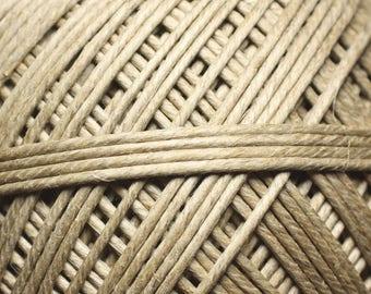 Spool 200 - thread cord 2mm white hemp twine - 8741140011021