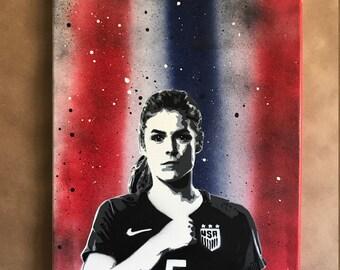 Kelley O'hara on Canvas