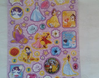 1 set of Princess stickers, stickers, decals stickers patterns Princess designs cartoons, patterns