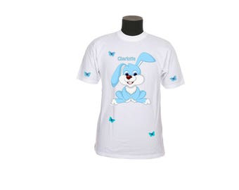 shirt pattern child Bunny customizable ref 96