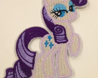 """""""My little pony"""" applique thermocollante 70/90 mm"""