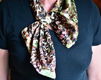 Fashion Bow Scarf (Mosaic)