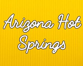 Arizona Hot Springs - Digital