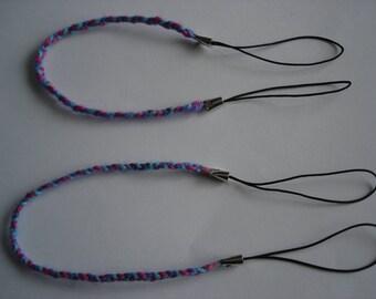 set of 2 friendship bracelets handmade new 17 cm