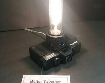 Vintage Tomko Camera Lamp