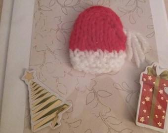Hand made Christmas card