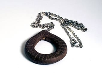 Nature raw Earth necklace