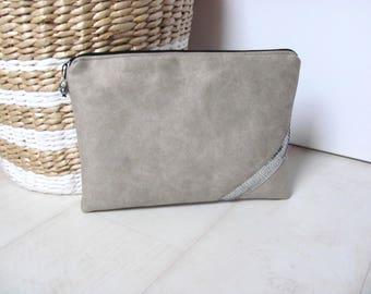 Cover padded Tablet case tablet, eReader, grey Tablet pouch