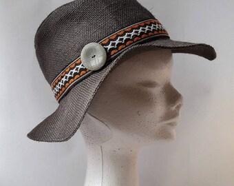 taupe fedora Hat
