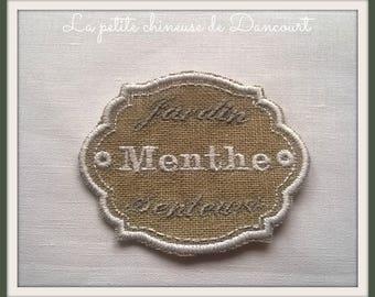 Aromatic Mint label