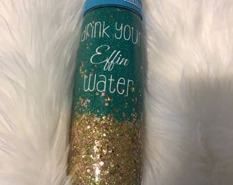 Customizable .75l camel bak water bottle