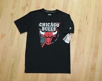 Chicago Bulls NBA T-Shirt, Zipway Sports Fashion Line