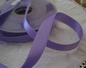 11mm purple satin ribbon