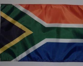 "SOUTH AFRICA FLAG - 45cm x 30cm - 18"" x 12"" - South African Flag"