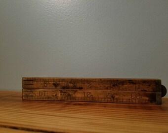 Vintage Stanley No. 61 Ruler
