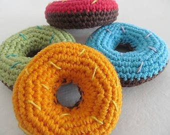 Donuts dinette crochet toy