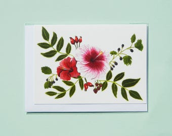 Fruits of the Forest A6 Notelet, Greetings Card