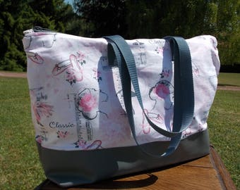 Dance or fabric shopping bag