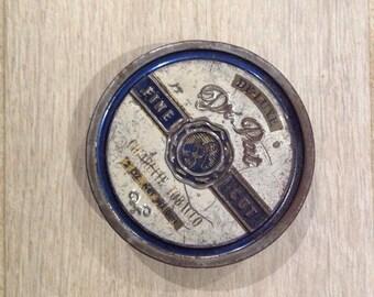 Vintage Dr Pat tabacco tins