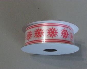 Christmas ribbon roll
