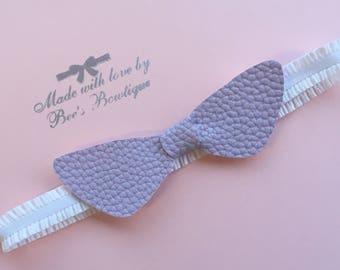 Lilac knot headband 6-12 months