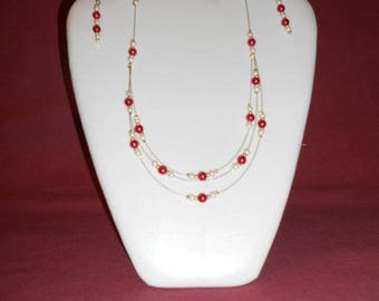 Necklace and Earring Set earrings