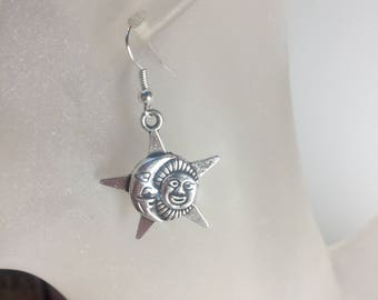 Moon Sun earrings