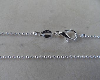 925 sterling silver chain length: 45 cm + 1 certificate of authenticity