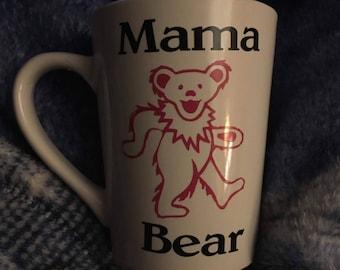 Mama and Papa Bear mugs (Grateful Dead)