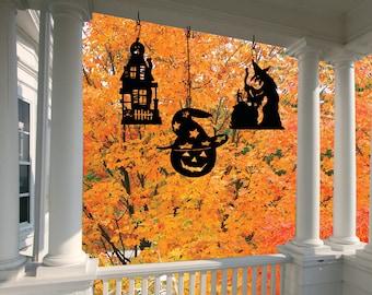 Decorative Hanging Silhouette- Halloween