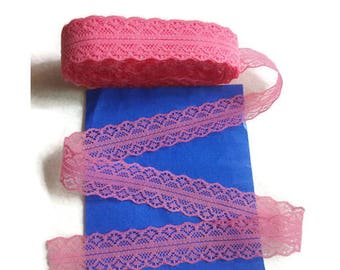 Pink Ribbon lace