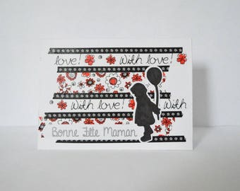 Card to wish a good mother's day