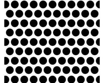 Stencil Scrapberry's Mask Stencil Dotted Pattern 15 cm new