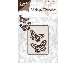 Die cut Joy Crafts Duo small butterflies new
