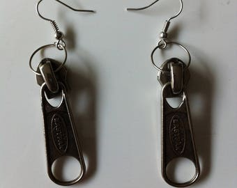 Zip EASTPAK by BAGART pierced earrings