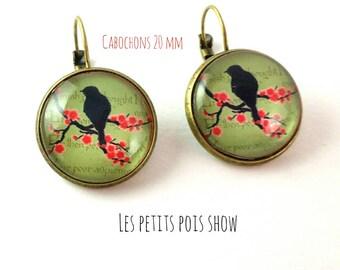 Earrings pendants #les birds.