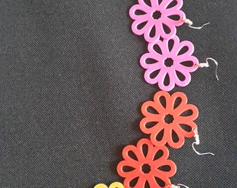 fancy Flower Earrings