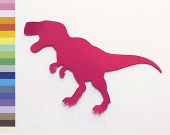 T-Rex Paper Card Stock Die Cut Scrapbook Embellishment Craft Supplies Cardstock Shapes
