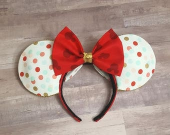 Reversible Polka Dot Ears