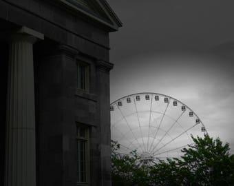 Montreal Ferris Wheel Print