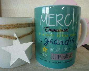 Custom illustration master/teacher gift mug